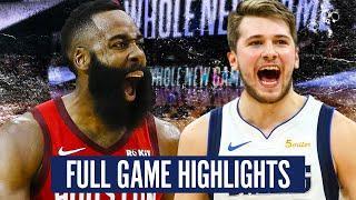 HOUSTON ROCKETS vs DALLAS MAVERICKS - FULL GAME HIGHLIGHTS   2019-20 NBA Schedule