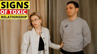 20 Clear Signs of an Unhealthy Relationship | HUGE WARNING Sings Of A TOXIC Relationship.