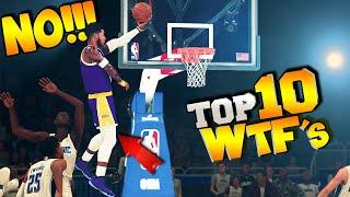 TOP 10 GLITCHES & WTF Plays Of The Week #33 - NBA 2K20 Highlights &