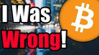 WARNING: Bitcoin & Ethereum Holders Do Not Be Fooled Like I Was! I Deleted My Last Video: HERE'S WHY