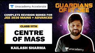 Guardians Of IIT-JEE | Centre of Mass | Kailash Sir | JEE 2020 Physics