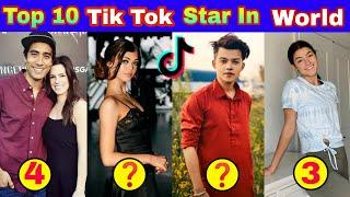 Top 10 Tiktok Star In The World    World Top 10 Tik Tok Star    Tik Tok Star    Tik Tok