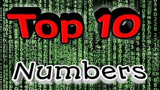Top 10 Numbers Green screen effect video |Animation effect 10 Numbers video |Numbers rotate effect