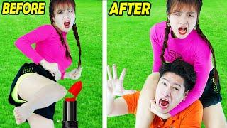 Funny Relationship Situations: 17 Couple Pranks and DIY Hacks BY RAINBOW STUDIO