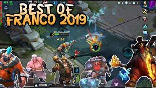 BEST OF FRANCO 2019 ❤ HAPPY NEW YEAR 2020 | WOLF XOTIC | MOBILE LEGENDS