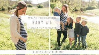 We have been keeping a secret! | BABY #5 IS ON THE WAY! | Pregnancy Update
