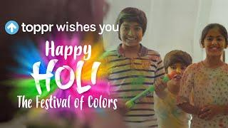 Toppr wishes you a Happy Holi!