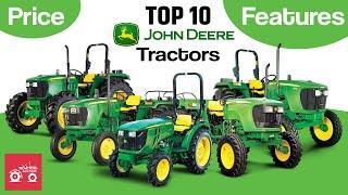 John Deere Top 10 Tractors in India | Tractor Videos John Deere | John Deere India 2020
