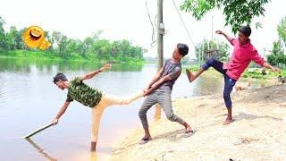 Non Stop New Top Funny Comedy Video 2020 Try Not To Laugh Episod 58 By #HDFunnyMix
