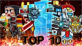 Pixel Gun 3D - Top 10 Most Popular Special Weapons by subscribers (Month 3)