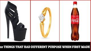 Top 10 Things That Had Totally Different Purpose When First Made