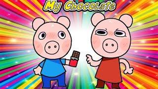 TOP 10 My Chocolate Meme Piggy Alpha Roblox Animation Funny Piggy meme