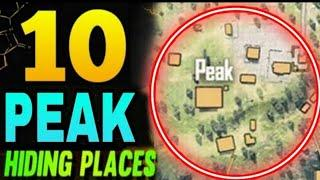 PEAK HIDDEN PLACE IN FREE FIRE ! TOP 10 HIDE PLACE IN BERMUDA MAP ! RANK PUSH TIPS ! VIP gaming