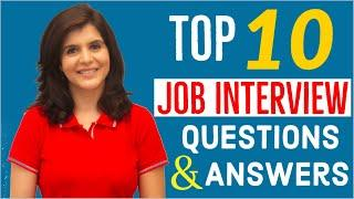 Top 10 Interview Questions and Answers in English | Job Interview Tips | ChetChat English