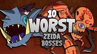 10 Worst Zelda Bosses!