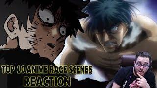 """""""Top 10 Anime Rage Scenes"""" REACTION!"""