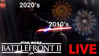 HAPPY NEW YEAR! STAR WARS BATTLEFRONT II LIVE