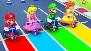 Super Mario Party - Mario vs Peach vs Luigi vs Daisy - Minigames (Master CPU)