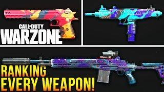 Call Of Duty WARZONE: Ranking EVERY Weapon In The Game!