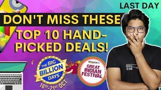TOP 10 HAND-PICKED DEALS in Every Category | Flipkart Big Billion Days | Amazon Great Indian Sale
