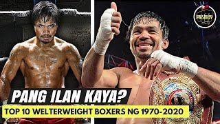 Pacquiao PASOK sa Top 10 Welterweights (1970-2020) ng CBS Sports | Pero pang ilan kaya?