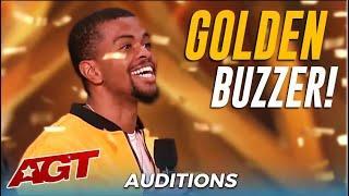 Brandon Leake: First Poet Ever To Get America's Got Talent GOLDEN BUZZER!