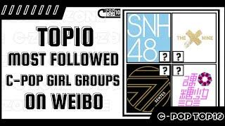 TOP10 Most Followed C-POP Girl Group s on Weibo | C-POP TOP10