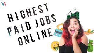 10+ Highest-Paid Online Jobs You Can Do Working From Home