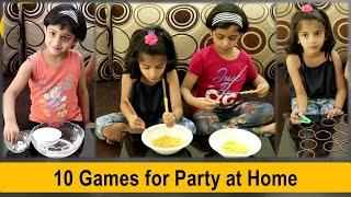 10 party games for kids | indoor games for kids at home | Fun games to play at home (2020)