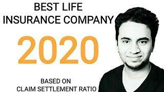 BEST LIFE INSURANCE COMPANY 2020 | CLAIM SETTLEMENT RATIO | TOP 10 LIFE INSURANCE COMPANY IN INDIA