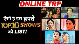 ONLINE TRP REPORT: Here's The Top 10 Shows List of This Week!