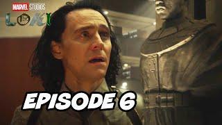 Loki Episode 6 Finale Marvel TOP 10 Breakdown Easter Eggs and Ending Explained