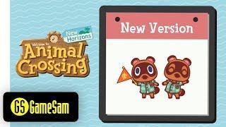 Ver. 2.0.0 Top 10 Updates   Animal Crossing New Horizons