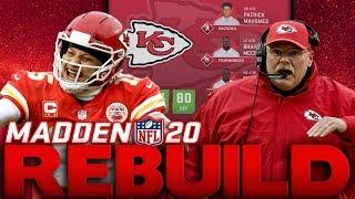 Drafting A Generational X Factor! 10 Year Future Rebuild of The Kansas City Chiefs Madden 20 Rebuild