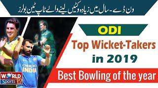 Top 10 Wicket takers in 2019 | Top 10 bowlers of 2019 | Cricket Records 2019