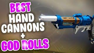 Top 5 Hand Cannons! - Destiny 2 Season of Dawn Best Hand Cannons