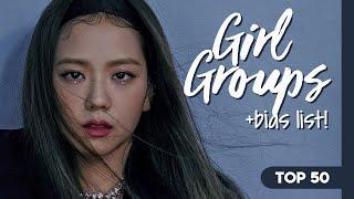 My Top 50 KPop Girl Groups + Bias List! (2020)