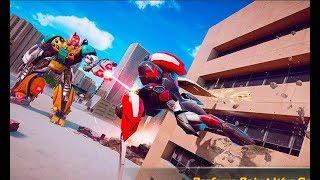 Flying Elephant Robot Transform Flying Robot War | New City Rescue Elephant Robot Android GamePlay