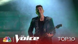"""Ricky Duran Tells Us He Was """"Born Under a Bad Sign"""" - The Voice Live Top 10 Performances 2019"""