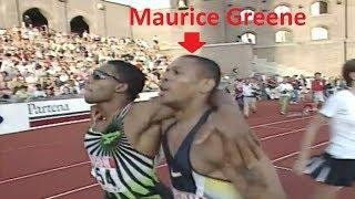 Maurice Greene Personal Best on 200m - 1997 DN Galan Stockholm (HD)