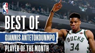 Giannis Antetokounmpo's December Highlights | KIA Player of the Month