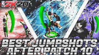 BEST JUMPSHOTS AFTER PATCH 10 | THE ONLY THREE JUMPSHOTS YOU WILL NEED ON NBA 2K20 | HOW TO ISO
