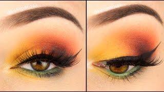 Soft Fall Vibes Eye Makeup Tutorial || KELLI MARISSA