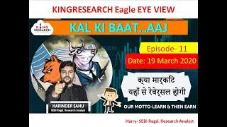 Kingresearch Eagle eye | Best stocks to Trade for Tomorrow | 19th March | Ep- 11 | Nifty Expiry Game