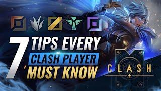 EVERYTHING You MUST Know For EASY CLASH Wins - League of Legends Season 10