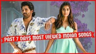Past 7 Days Most Viewed Indian Songs on Youtube [2 March 2020]   This Week Most Watched Songs