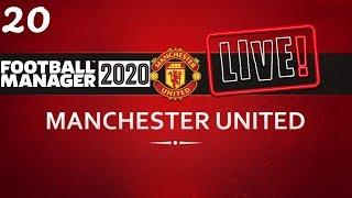 FM20 Manchester United Career Mode | Fixing Man United Ep20 | Football Manager 2020 Stream Replay