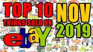 Top 10 High Valued Items Sold on Ebay November 2019 | Selling over $2600