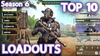 TOP 10 BEST GUNSMITH LOADOUTS COD MOBILE SEASON 6 BEST GUNS RANKED TIPS AND TRICKS FOR BEGINNERS
