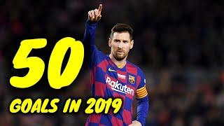 Lionel Messi  - All 50 Goals in 2019 (HD)